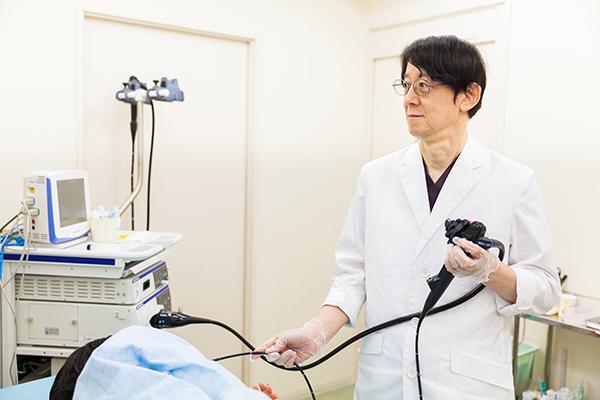 先進機器を活用し、最小限の負担をめざす経鼻内視鏡検査