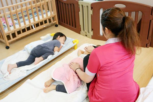 病気になったわが子を大切に看てくれる 病児・病後児保育室