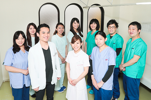 患者の健康寿命を支えるスタッフ一丸のトータルサポート