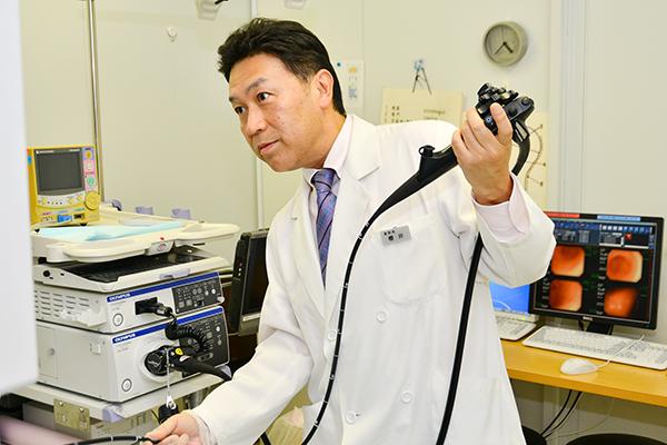 充実の設備と専門知識を持つ医師看護師のもとで受ける内視鏡検査