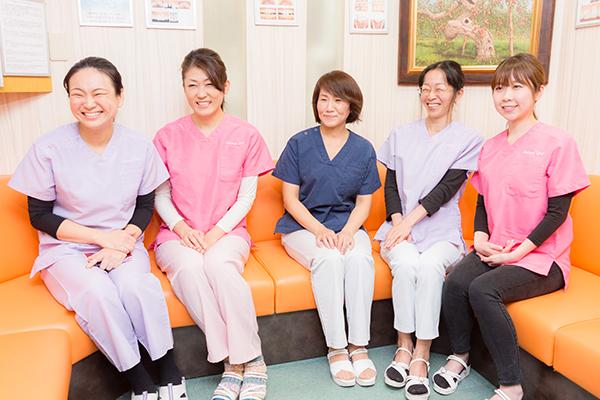 歯科医師だけでなくスタッフ全員がチームで取り組む予防歯科