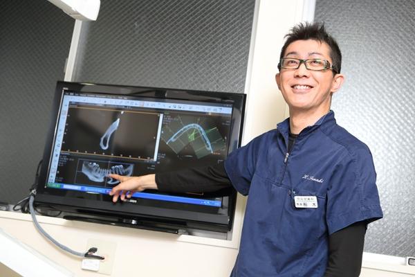 歯科用CTの活用が鍵を握る安全に配慮したインプラント治療
