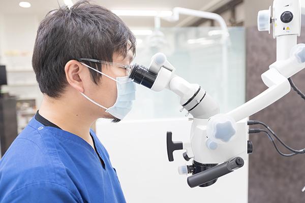 CT・マイクロスコープによる精密な検査・診断・治療の重要性