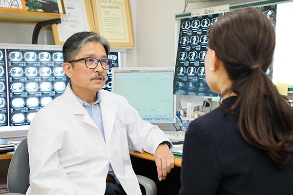 放射線科の診断技術を生かし内科全般を総合的に診察する