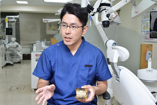 自分の歯でしっかり噛むために包括的アプローチによる歯科診療