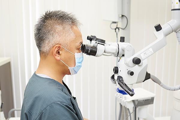 再治療のリスクを減らすマイクロスコープを用いた精緻な歯科治療