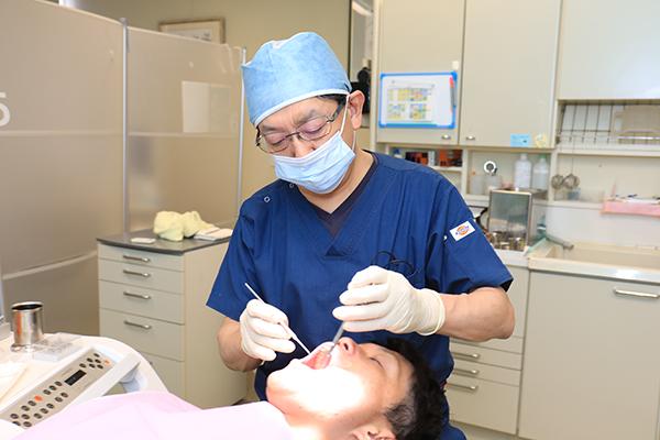 専門家によるメンテナンス虫歯や歯周病の予防を見据えた治療