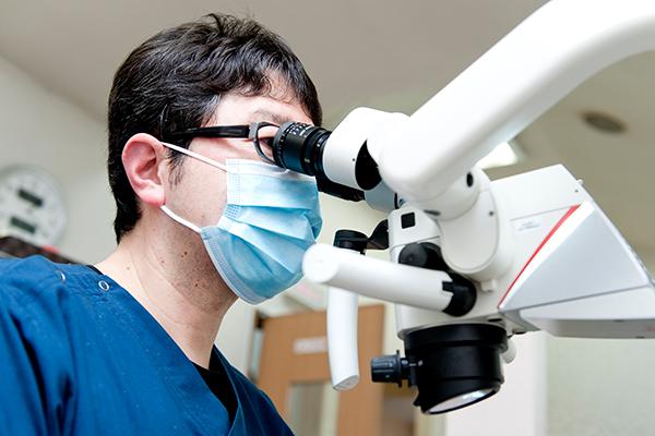 精密に行う根管治療で再治療を予防して歯を残していく