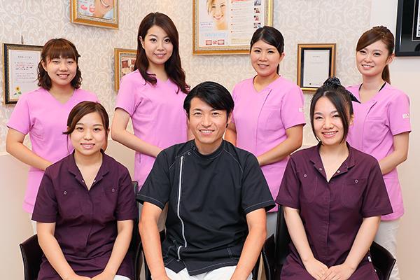 全スタッフ役割が明確なチーム医療担当衛生士と取り組む予防歯科