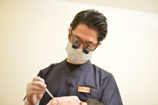 新しい素材、新しい技術体に優しい審美歯科