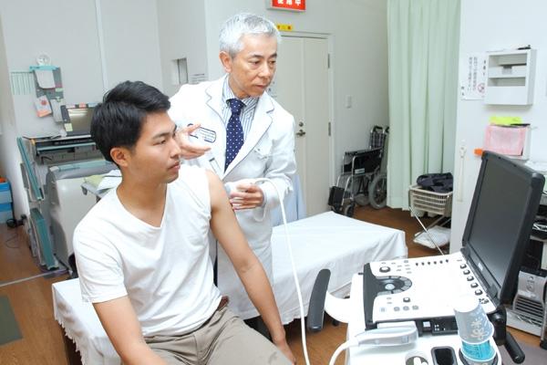 筋肉の痛みに対する治療法エコーガイド下のハイドロリリース